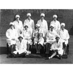 Employees with FA cup, 1927