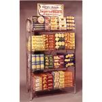 Biscuit display rack, probably 1950s