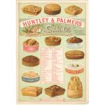 Advert for Huntley & Palmers cakes, around 1890