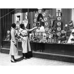 Ginger Nut window display, around 1933