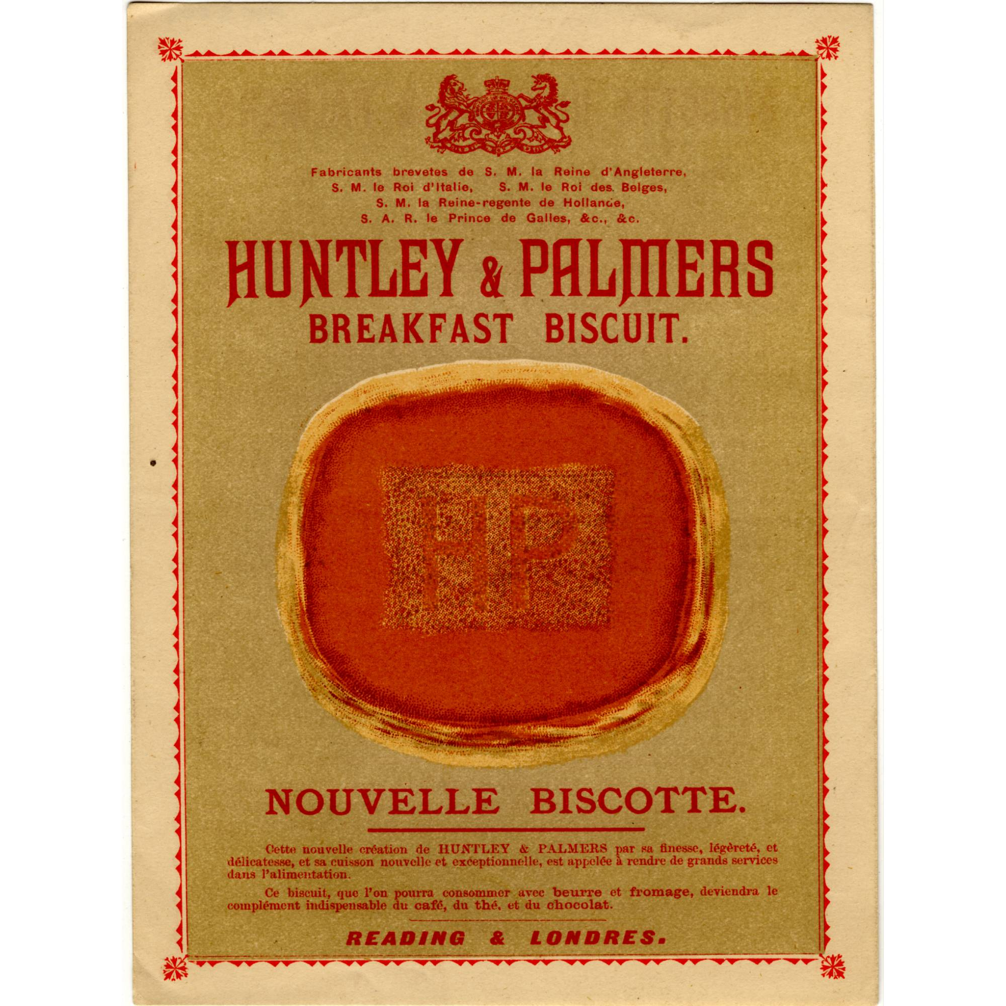 Breakfast Biscuits, 1894