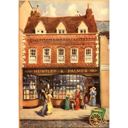 The London Street bakery, about 1850
